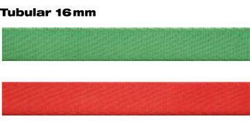 Smyčka pomocná plochá dutá16 mm červená Beal