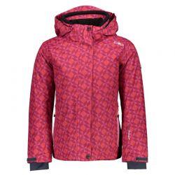 Bunda CMP lyžařská dívčí Hot Pink