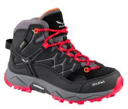 Boty Salewa Jr Alp Trainer MID GTX Black Bergot