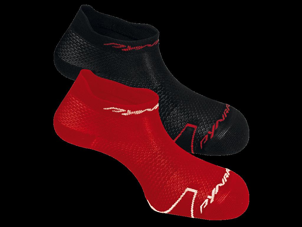 Ponožky Dynafit Ultralight Footie 2 páry červené 70590-1501