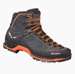 Boty Salewa MS MTN Trainer Mid GTX Asphalt Fluo Orange