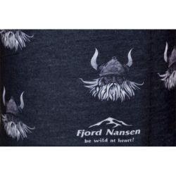 Čelenka, šátek Fjord Nansen Viking černý 43553