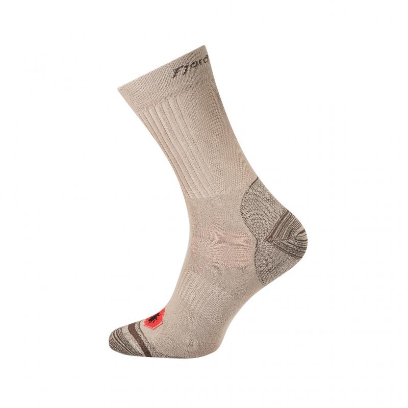 Ponožky Fjord Nansen Anti Mosquito beige