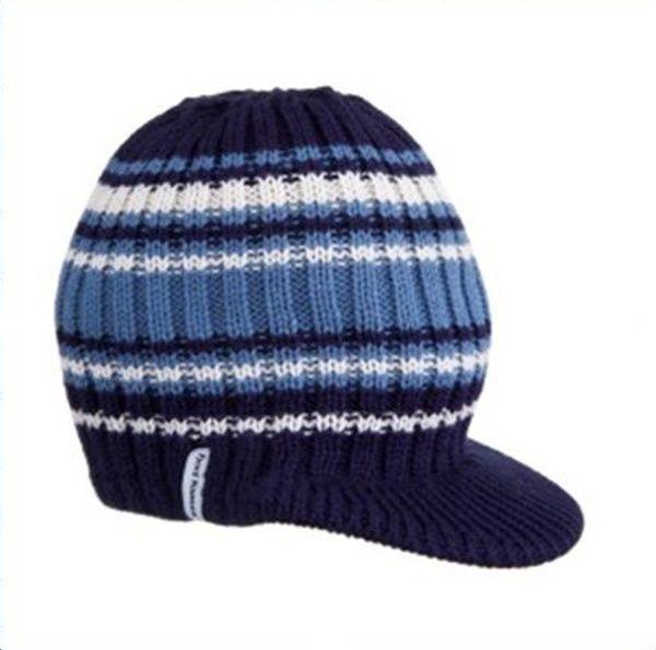 Čepice Fjord Nansen Sander modrá 36579