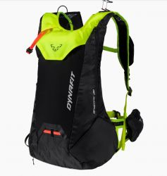 Batoh Dynafit Speedfit Black Neon Yellow 20l