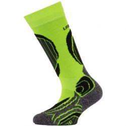Dětské lyžařské ponožky Lasting Merino Yellow