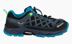 Boty Salewa JR Wildfire 64007-3847 Ombre Blue Fluo Green