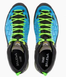 Salewa MS MTN Trainer GTX 61356-8375 Blue Donube Fluo Green