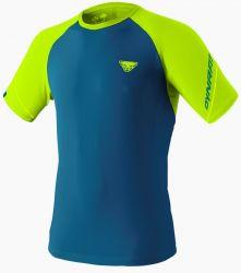 Triko Dynafit Alpine Pro Mykonos Blue Fluo Yellow