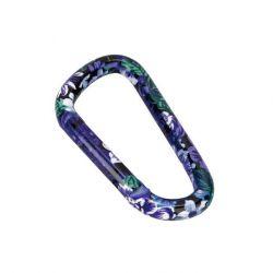 Munkees Karabina květy modrá