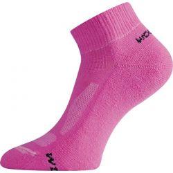 Ponožky Lasting Merino WDL růžové