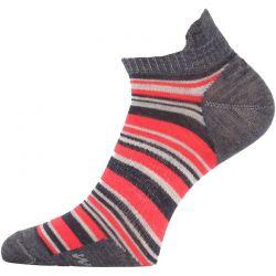Ponožky Lasting Merino WPS červené