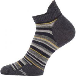 Ponožky Lasting Merino WPS šedé