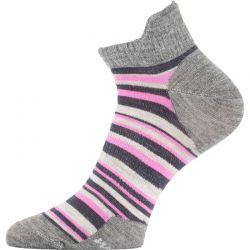 Ponožky Lasting Merino WWS růžové