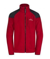 Fleece bunda Fjord Nansen Roald červená