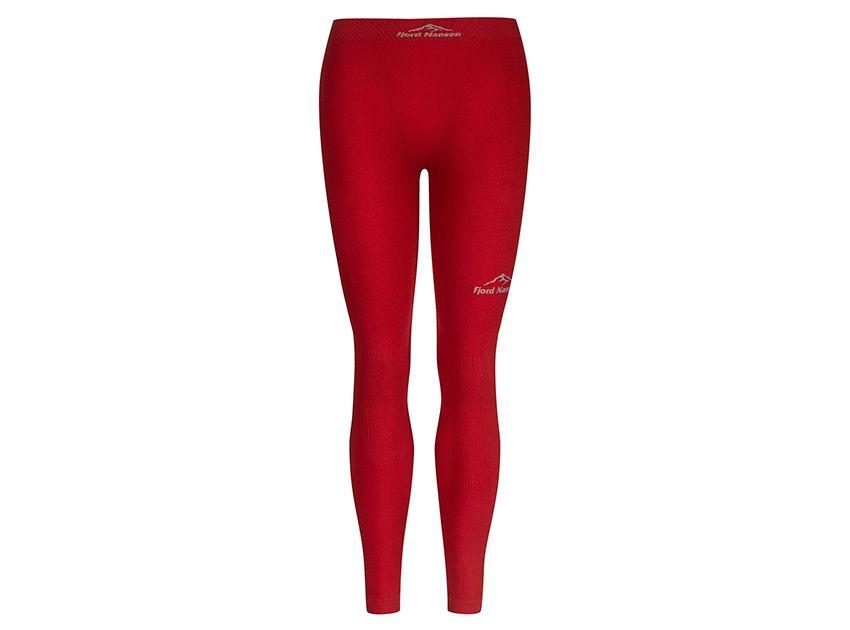 Kalhoty FN Merino Red Women Fjord Nansen