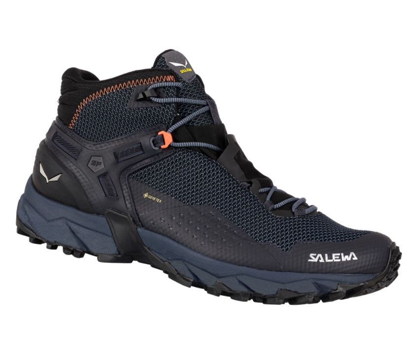 Boty Salewa MS Ultra Flex 2 Mid GTX 61387-0984 Black Out Red Orange