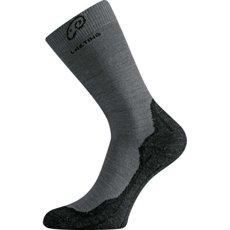 Ponožky Lasting Merino šedé WHI-809