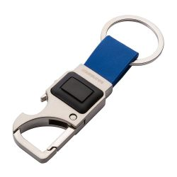 Klíčenka se 3 funkcemi - karabinka, otvírák láhví, LED svítilna