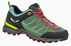 Salewa WS MTN Trainer Lite 2 GTX Feld Green Fluo Coral