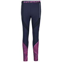 Kalhoty CMP Stretch Polyester Black Blue