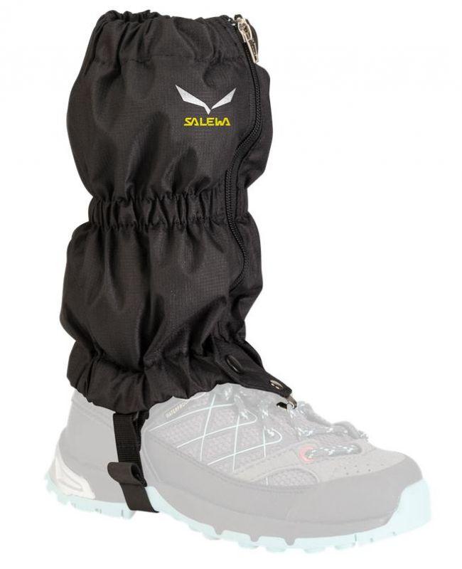 Návleky na boty Salewa Junior černé 2118-0900