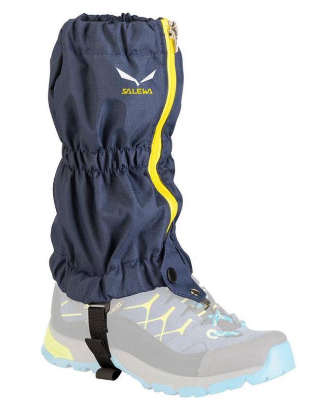 Návleky na boty Salewa Junior modré 2118-3850